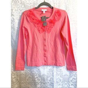 Pink Frilly Cardigan NWT